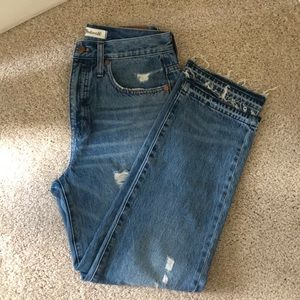 Madewell Classic Straight Jeans Size 27